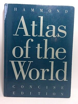 Atlas Of The World Concise Edition by Hammond