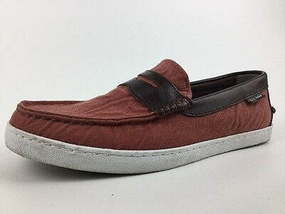 97fcafc51d4 Men Cole Haan Deck Boat Slip On Loafers Sz 8.5 M Pinch Marine Classic