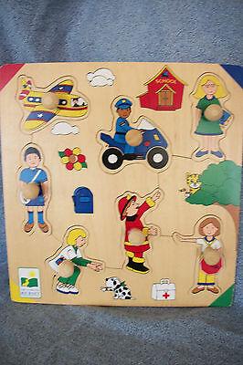 The Learning Journey Community Helpers Wooden Puzzle 3+