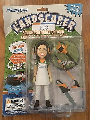 Progressive Insurance Flo Landscaper Action Figure-NEW-Limited Edition