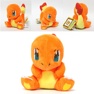 Details about  New Pokemon Charmander Plush Soft Toy Stuffed Animal Cuddly Doll