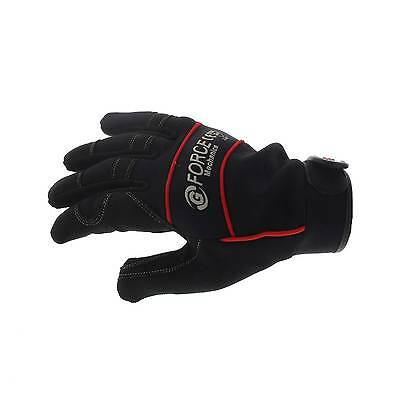 G-Force Mechanics Gloves Large Pair Safety Synthetic Leather Work Ventilated