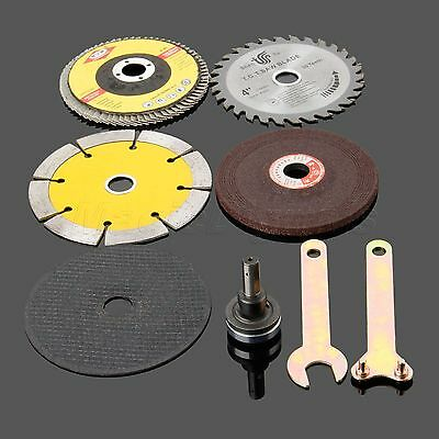 8pcs Cutting Grinding Polished Saw Blade Disc Wheel Angle Grinder Rotary Tool