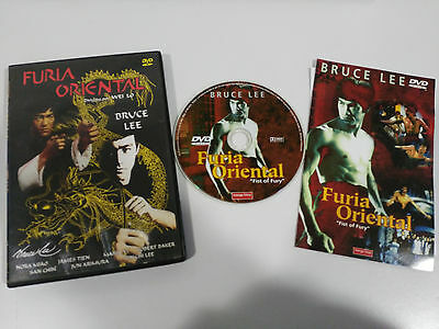 Bruce Lee Furia Oriental Fist Of Fury Dvd Wei Lo Region 0 All Español