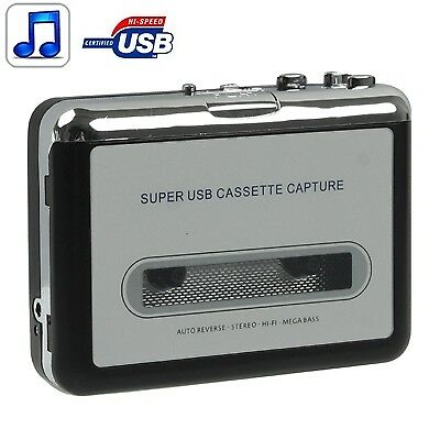 HI-TECH Tape to PC Super USB Cassette to MP3 Converter Capture Audio Music Play