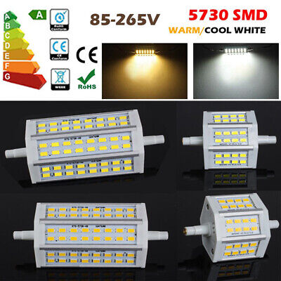 8x Dimmable R7S 10W 15W  78/ 118mm SMD LED Ampoule Lampe Security Flood Lumière