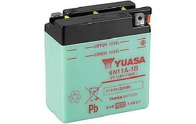 Genuine Yuasa 6N11A-1B 6V Motorbike Motorcycle Battery