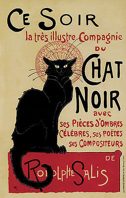 A4 Vintage/French Advertising Poster Colour/Art Nouveau-Reproduction