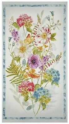 Rainbow Seeds Quilt Panel * New * In Stock * Free Post * Gorgeous *