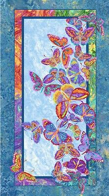 Marblehead Butterflies Quilt Panel * In Stock * Free Post *