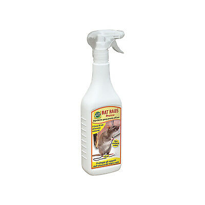Mondoverde Repellente Spray Per Topi 750Ml Disabituante Rat Raus Protex