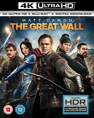 The Great Wall (4K Ultra HD + Blu-ray + Digital Download) [UHD]