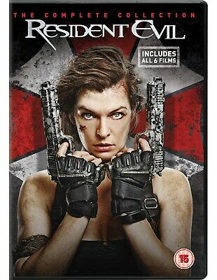 Resident Evil: The Complete Collection (Box Set) [DVD]