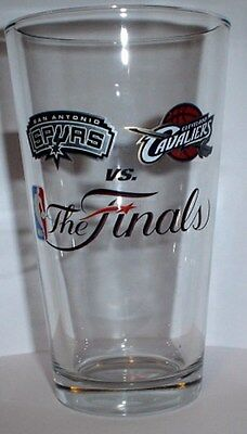 SAN ANTONIO SPURS vs  Cleveland Cavaliers 2007 NBA FINALS PINT GLASS (1glass)