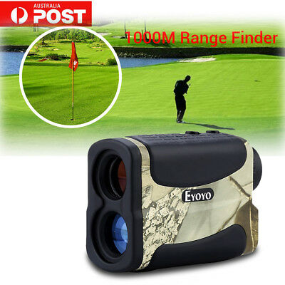 EYOYO 6x25 AF1000LLaser Range Finder Scope Rangefinder Binocular Hunting Camo