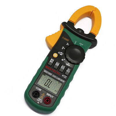 MASTECH MS2108S True RMS Digital AC DC Current Clamp Meter Multimeter Inrush