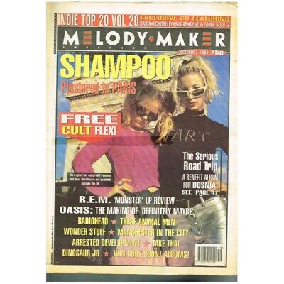Melody Maker Magazine October 1 1994 Npbox87 Shampoo Band Ls