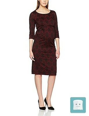 Mamalicious Mljaca 3/4 Jersey Dress, Vestito Maternità Donna , 38