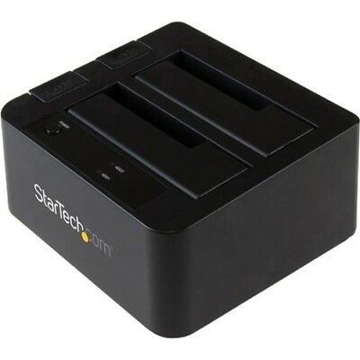 NEW Startech SDOCK2U313 USB 3.1 (10Gbps) Dual-Bay Dock for 2.5/3.5in SATA