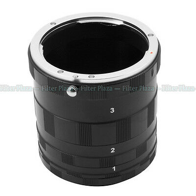 Macro Extension Tube Ring Canon EOS 550D 650D 700D 750D 6D 70D 7D 5D Mark II III