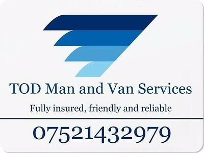 Man with a Van Service - Man and a Van - Courier  - Delivery - Removals