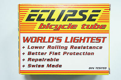 "Eclipse Ultralight Schlauch 26x1.5/2.25 SV 26"" Transparent NEU #282"