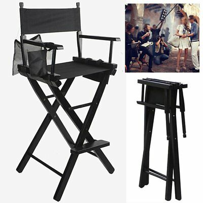 Professional Woon Folding Makeup Artist Director Film Studio Chair W/ Si Bag