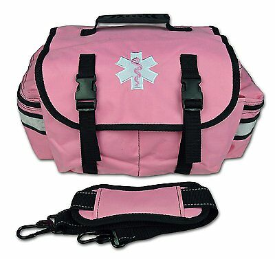 PINK Lightning X Small First Responder Bag w/ Dividers, Medical Trauma First Aid
