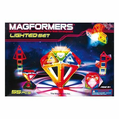 MAGFORMERS Lighted Set (LED) 55