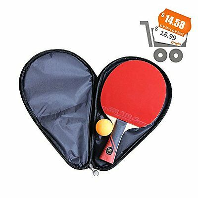"""6 Star Ping Pong Paddle,Training Table Tennis Racket With 7-Ply"""