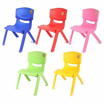 Kids Children Plastic Chair Stackable Strong High Quality Suitable for Outdoor