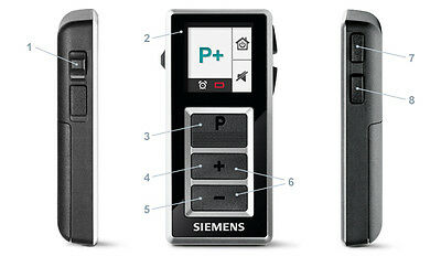 Siemens EasyPocket Remote Control. Brand NEW Boxed, by KEEPHEARING LTD