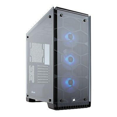 Corsair Crystal Series 570X RGB - Tempered Glass, Premium ATX Mid-Tower Case ...