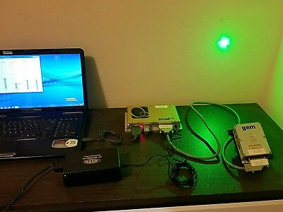 Laser Quantum gem FS w/Matched SMD6000 Controller  500mw dpss.   coherent