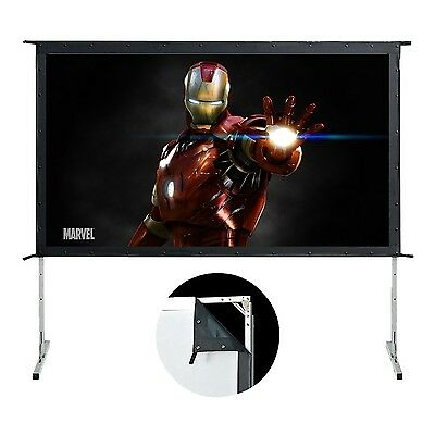 120In Movie Master Easy Fold Portable Projection Screen 16:9