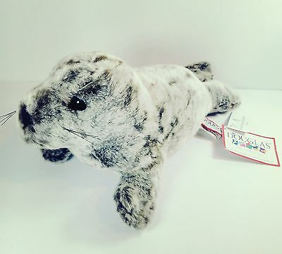"""Douglas Monk Seal """"Speckles"""" 12"""" Long Cuddle Toy NEW WITH TAGS"""