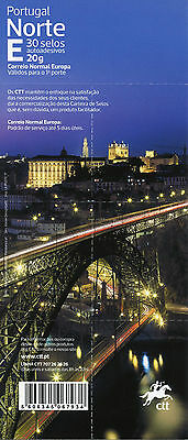 Portugal 2017 MNH North 30v S/A Booklet Bridges Cathedrals Rivers Tourism Stamps