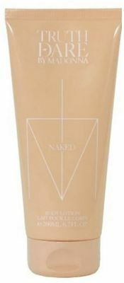 2 X Madonna Truth Or Dare Naked Body Lotion 200Ml
