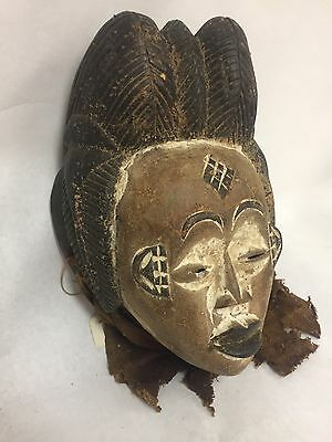 Authentic Punu Gabon Tribal African Art Mask Ex Young Ex TibiWinston Collections