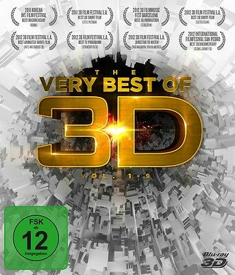 3D Blu-Ray Disc - The very Best of 3D Vol. 1-9 (3 Disc Box)