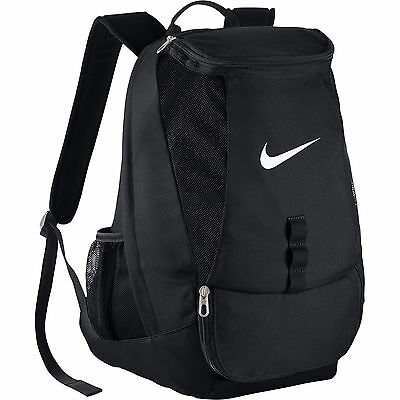 SPORTS BACKPACK NIKE CLUB BAG BLACK SIZE 49cm L x 35cm W