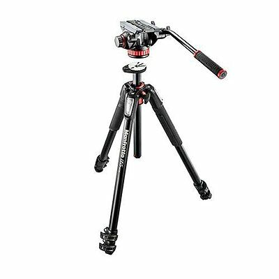 Manfrotto Mt055Xpro3 Aluminum Tripod With Mvh502Ah Video Head