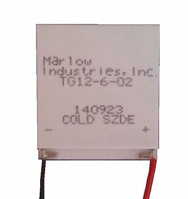 BXQINLENX TG12-6-02 Thermoelectric Power Generation Peltier Module