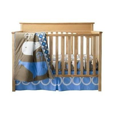 Room 365 3 Piece Crib Set Whales Collection New