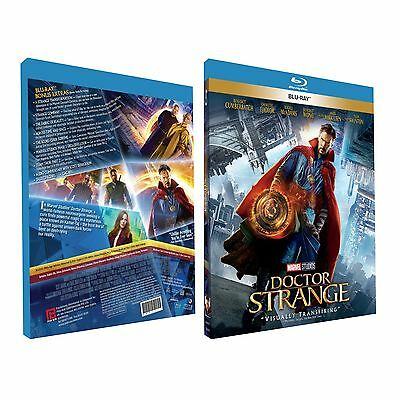 Doctor Strange (Blu-ray/DVD, 2017, 2-Disc Set)(Region Free)