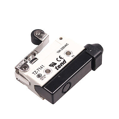 TZ-7141 AC 380V 10A SPDT 1NO+1NC Snap Action Roller Lever Limit Switch