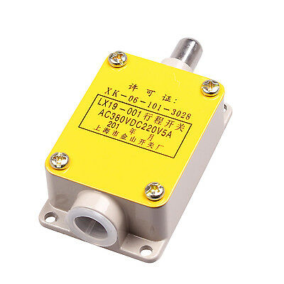 LX19-001 AC 380V DC220V NO/NC SPDT Momentary Push Plunger Limit Switch