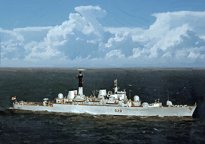 Hms Bristol - Hand Finished, Limited Edition (25)