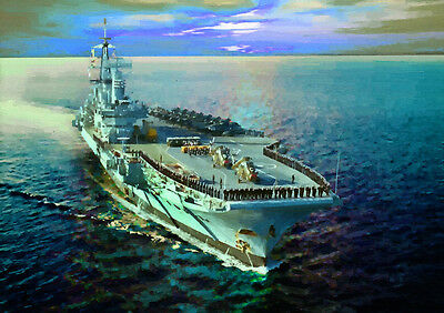 Hms Hermes - Hand Finished, Limited Edition (25)