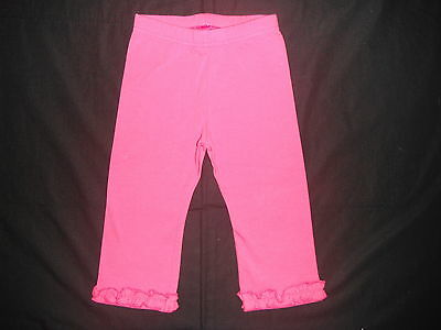 Pumpkin Patch - Girls Frilly Raspberry Leggings - Size 0 ( 6-12 months ) - NWT